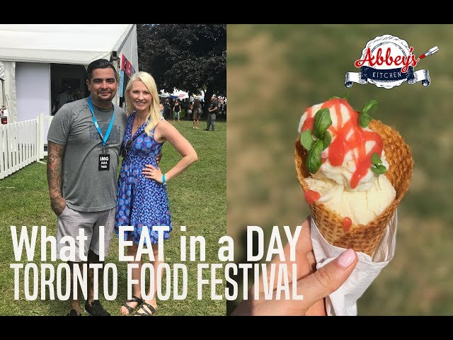 What I ATE in a Day at a FOOD Festival | TASTE of TORONTO | Best Chefs