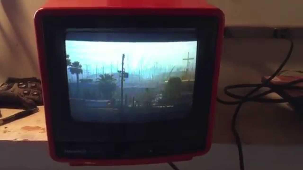 Ebay  Vintage Magnavox Perfect View Portable 9 U0026quot  Tv 1989