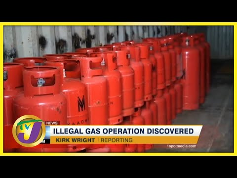 Illegal Cooking Gas Operation Discovered in Jamaica | TVJ News
