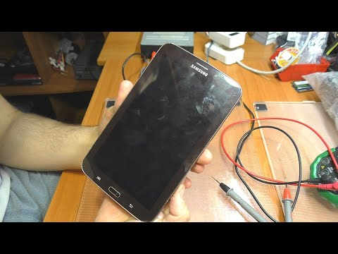 Планшет Samsung Galaxy Tab 3 7.0 SM-T211 / Разряжается в спящем и выключенном режимах