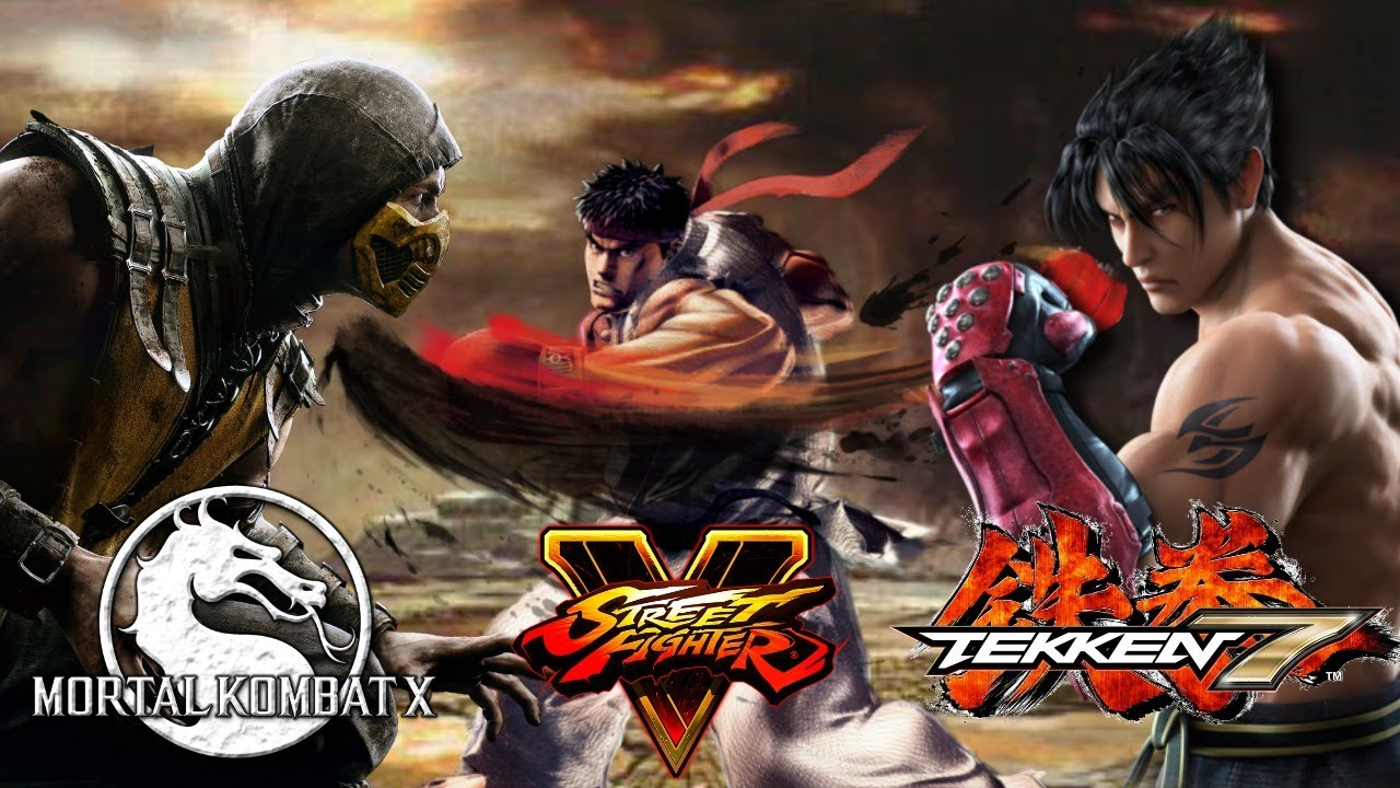 Mortal Kombat X Vs Tekken 7 Vs Street Fighter V Best Fighting Game Hd 720p Youtube