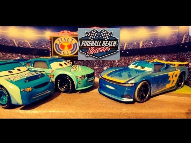 Disney Cars 3 Micheal Rotor (View Zeen #39) | NEW 2018 Fireball Beach Racers (Single) Diecast!