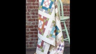 Nine Patch Garden Quilt Tutorial