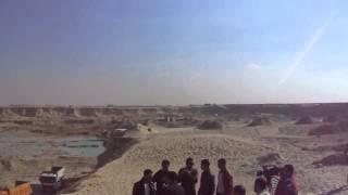 مشهد عام للحفر بقناة السويس الجديدة بالكيلو76