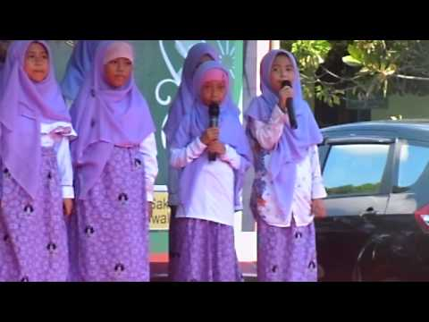 Artis Cilik Reyvina and Team Lagu angka arab