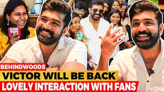 ARUN VIJAY-ஐ வெக்கப்பட வைத்த ரசிகை😍 - Live Chat with Fans❤️ Don't Miss it😊   #MeetAVContestWinners