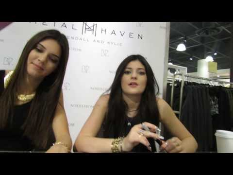 Meeting Kylie and Kendall Jenner