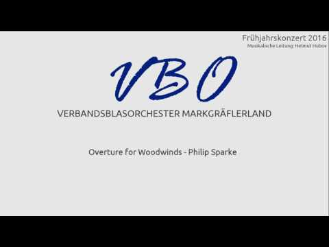 Philip Sparke: Overture for Woodwinds
