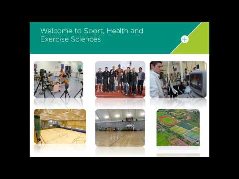 Sport, Health and Exercise Sciences BSc Webinar | Thursday 21 April