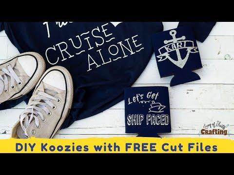 Personalized Koozies DIY