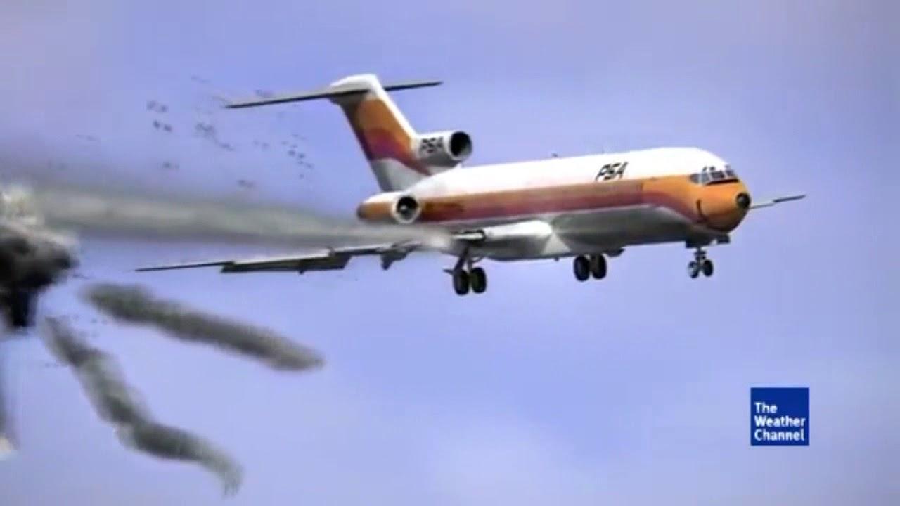 PSA Flight 182 - Crash Animation 2