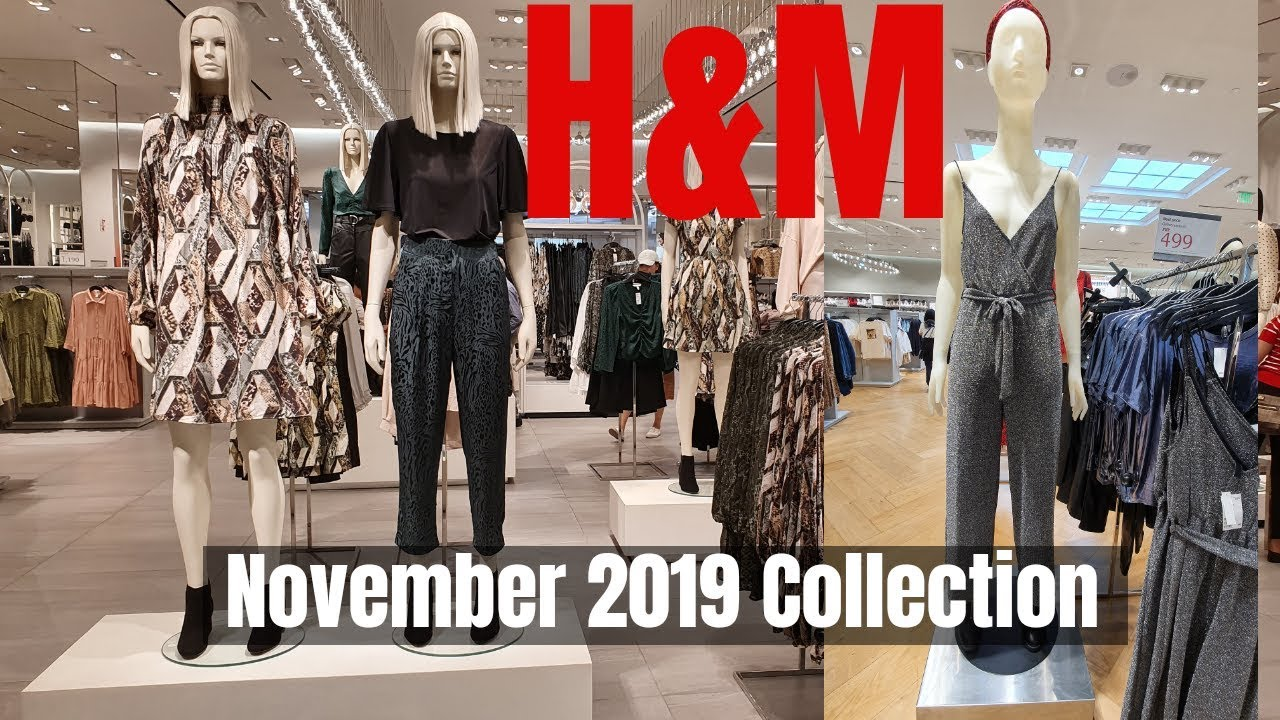 [VIDEO] - #H&M Philippines |  New In H&M #November2019Collection | Womens Fashion 1