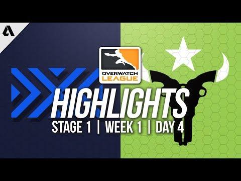 New York Excelsior vs Houston Outlaws ft Jjonak Jake | Overwatch League Highlights OWL Week 1 Day 4