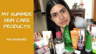 SUMMER SKIN CARE PRODUCTS THAT ACTUALLY WORK | NON SPONSORED