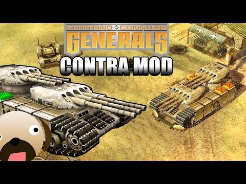 RETURN OF GLA BANEBLADE - C&C Generals Zero Hour Contra Mod
