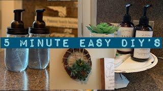 DIY Dollar Tree Succulent Wreath/DIY Soap Dispensers/Farmhouse Decor