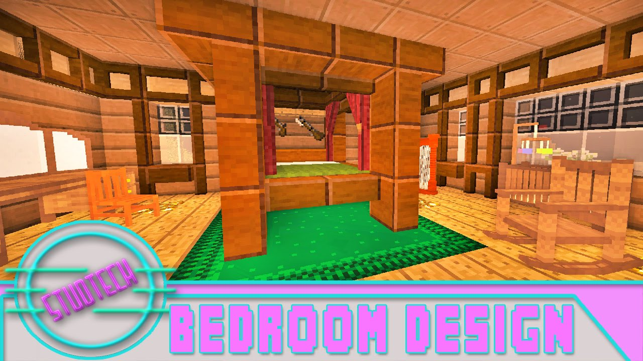 Minecraft How To Make A Modded Bedroom Design StudTech Ep27