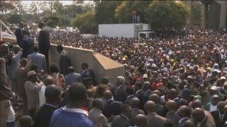 Zimbabwe, Les mises en garde du Président Robert MUGABE aux occidentaux