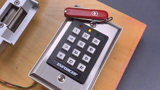 [1045] Swiss Army Knife Bypass of Keypad Lock