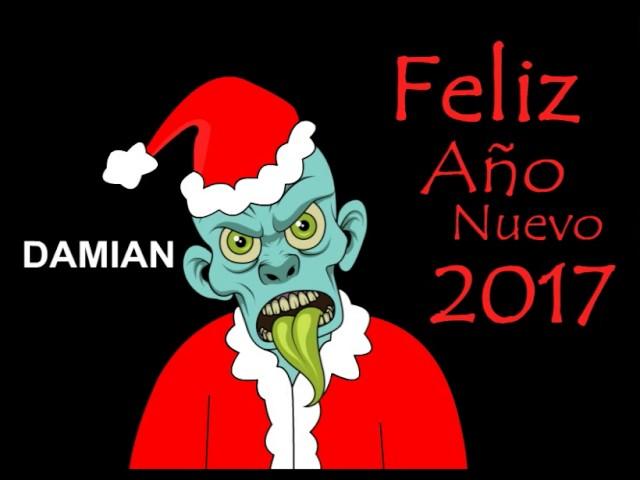 Feliz Año Nuevo 2017 en Damian :)
