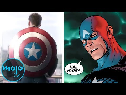10 Avengers Moments Ripped from the Comics