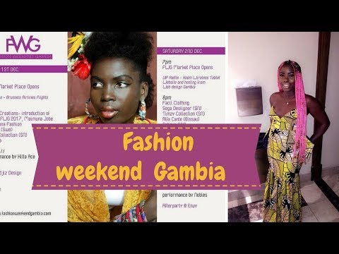FASHION WEEKEND GAMBIA | WEST AFRICAN FASHION SHOW