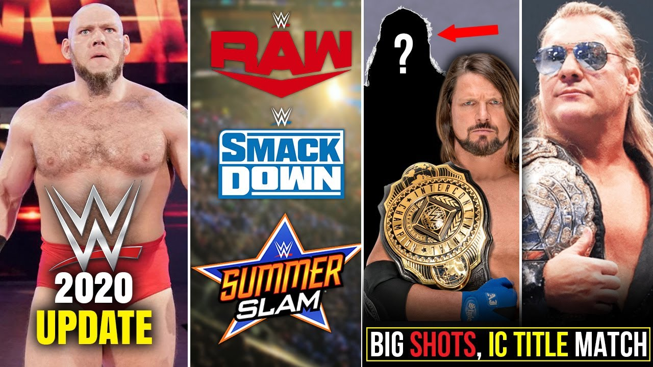 GOOD NEWS : Raw /Smackdown/Summerslam, Lars Sullivan Update, IC Title Spoiler, Jericho shots at WWE