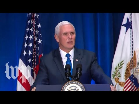 Pence speaks at March for Life dinner