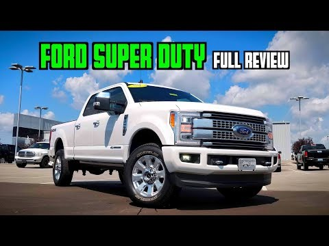 Ford F- Super Duty Platinum: FULL REVIEW | $K Never Looked So Capable!