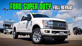 2019 Ford F-250 Super Duty Platinum: FULL REVIEW   $80K Never Looked So Capable!
