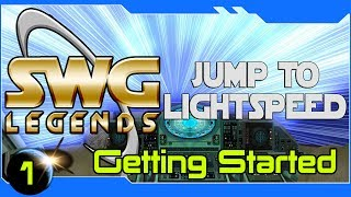 Star Wars Galaxies Legends - Install and Character Creation - Getting Started #1