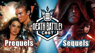 Star Wars Prequels VS Sequels w/ Game Attack | DEATH BATTLE Cast #219