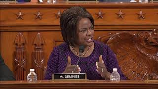 Watch: rep. val demings' full opening statement in day 1 of trump impeachment articles markup