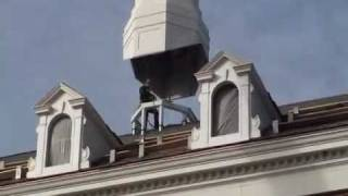 Cupola Installed On Roof Of F&m's New Dorm