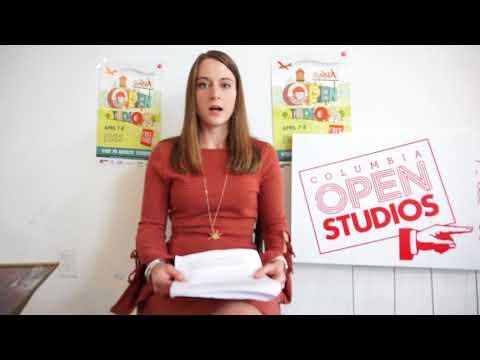 Columbia Open Studios, April 7-8, Artist Orientation Video