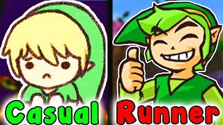 Casual VS Speedrun - WOODFALL TEMPLE (Legend Of Zelda Majora's Mask)