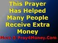 FINANCIAL BREAKTHROUGH & MIRACLE PRAYER, by Brother Carlos