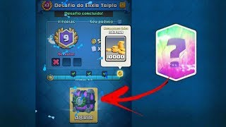 Completei O Novo Desafio Do Clash Royale!!