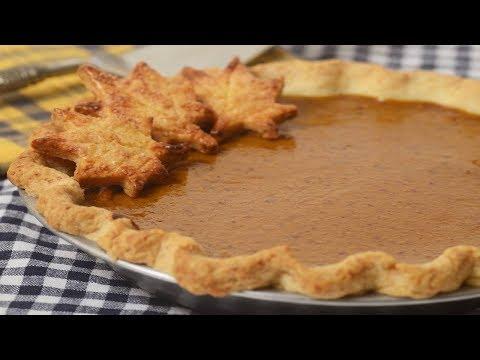 Pumpkin Pie Recipe Demonstration - Joyofbaking.com