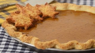 Pumpkin Pie Recipe Demonstration - Joyofbaking.com