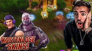 Fortnite FREE SKINS ARE DA! 😱💎 Battle Royale Wakez
