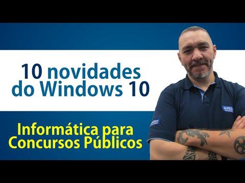 10 novidades do Windows 10 - Informática para Concursos - AlfaCon