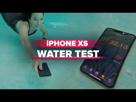 buy online b76a3 59951 iPhone XS water test: Did it survive?