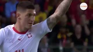 highlight.hasil Belgia 2 - 1 Swiss Friendly Match. 2018