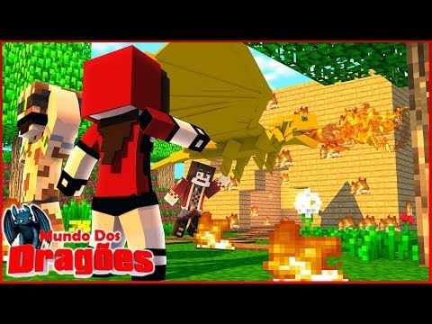 ACASALEI MEU DRAGÃO COM A DO KRONOS E SOLDIER E DEU RUIM! - Minecraft: Mundo dos Dragões #28