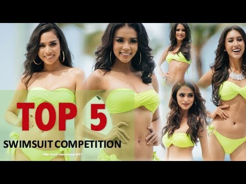Miss Grand International 2017: TOP 5 SWIMSUIT COMPETITION - Full (HD)