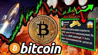 BITCOIN Winds Up for Next MAJOR MOVE!! HODLers Are INSANE?! Buy $BTC or GOLD?