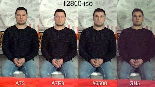 Sony A7 III Lowlight vs A7R3 vs A6500 vs GH5 - The A73 SHOCKS 😲
