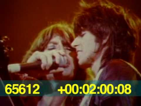 The Rolling Stones - Rare 1975 Footage (No sound)