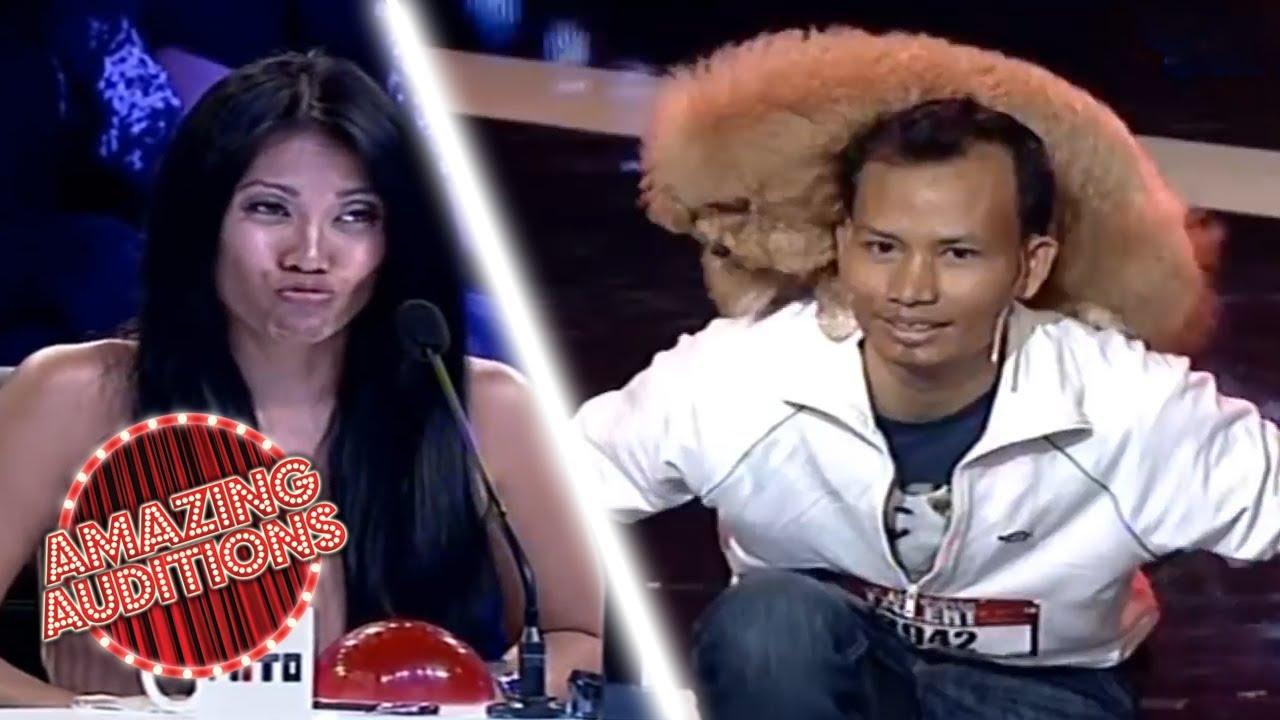 AMAZING Dog Acrobatics on Indonesia's Got Talent   Amazing Auditions